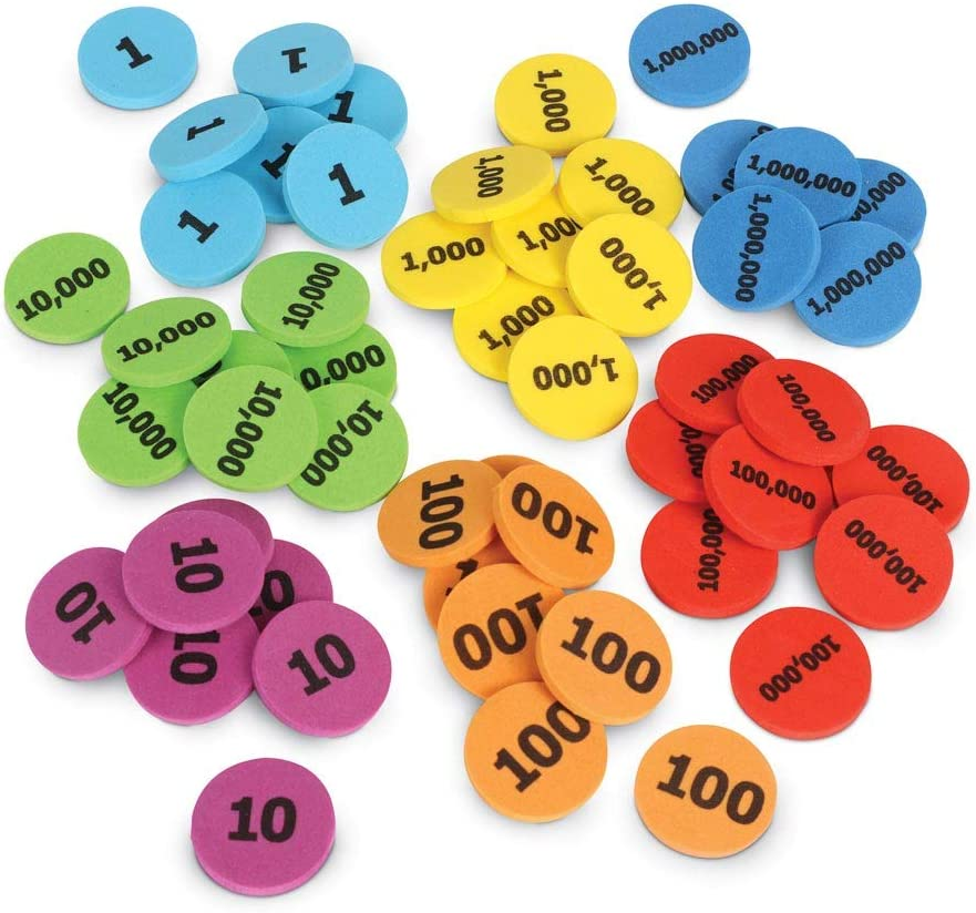 Learning Resources Place Value Disks manipulative
