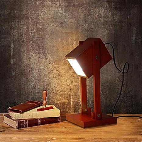WXBW Lámpara de Mesa-Original Minimalista escandinavo ...