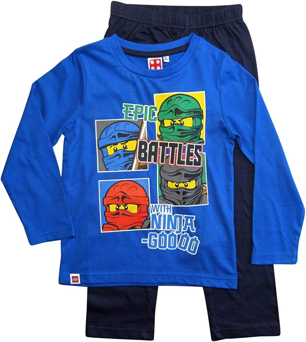 LEGO Jungen Mw-Schlafanzug Ninjago Pyjamaset