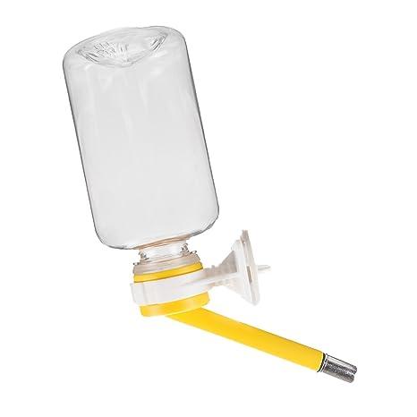 Botella de agua FatPet para animal pequeño. Dispensador de agua para mascotas a