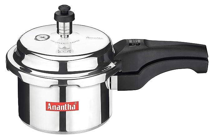 Anantha Perfect Aluminium Pressure Cooker, 5 LiterS