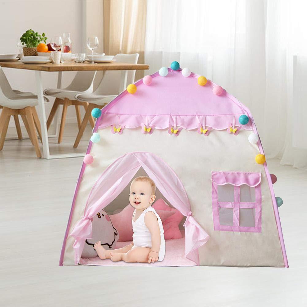 Und Outdoor-Spiele 51x39x12 Princess Castle Spielzelt F/ür M/ädchen Gro/ße Kinder Spielzelte F/ür Kinderzelt Spielhaus Indoor