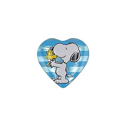 Metal Box Gelbes Herz Snoopy Peanuts Schokoladenmilchkonfekt