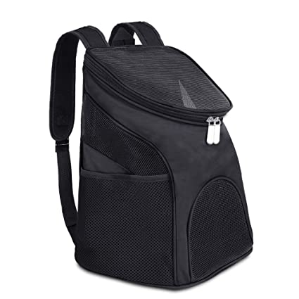 a7a023023548 Image Unavailable. Image not available for. Colour  SRI Pet Carrier Backpack  with Adjustable Shoulder Strap