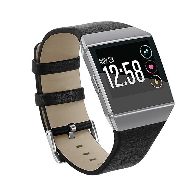 CyberKit Para Fitbit Ionic reloj banda, Milanese Loop pulsera de ...