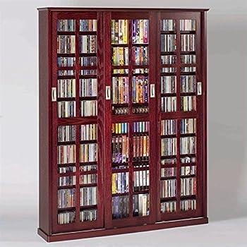 Amazon.com: Leslie Dame MS-700DC Mission Multimedia DVD/CD Storage ...