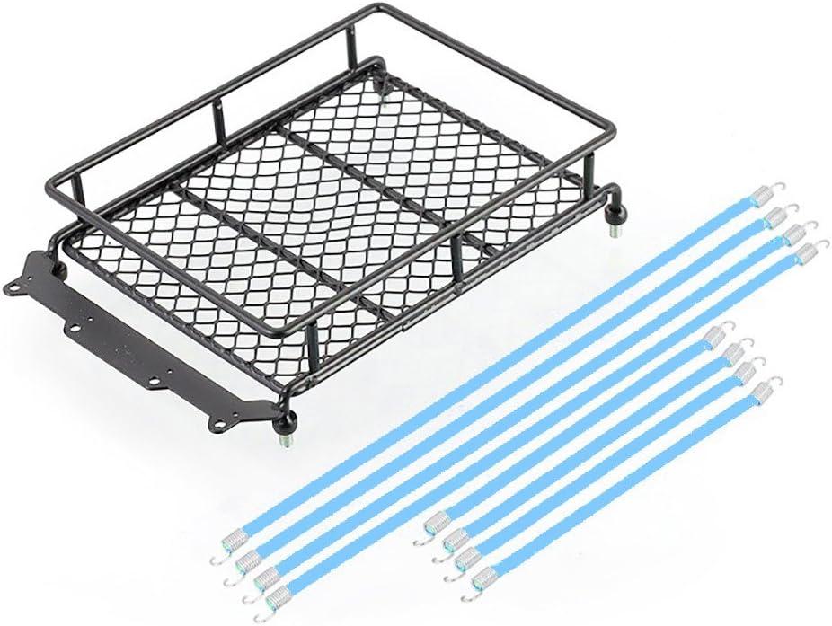 1//10 Crawler Accessory Luggage Rack Rope for SCX 10 RC Climbing Simulation Car Trailer 20cm Luggage Rack Drawstring Cargo Binding Rope by GorNorriss BK