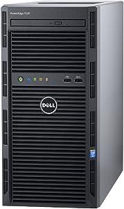 Dell PowerEdge T130 Server 1x G4500 3.5GHz 2C 8GB 1x 1TB 7.2K S130 (Renewed)