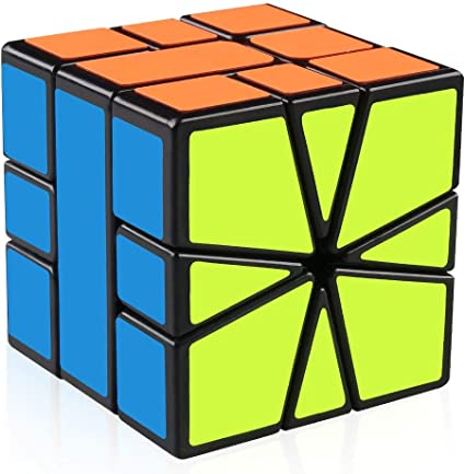 CrazyBuy Speed Square-1 Shapes Puzzles Cube