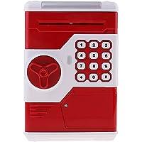 Sharplace taşınabilir Tresor form kasa bozuk para kumbara Gelddose Box ile müzik & flaş, pil ile çalışır (3* AAA pil)