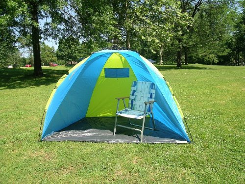 One Touch Push Up Easy Setup Beach Shelter 8 Feet Tent Better than Pop Up Easier when Fold Up