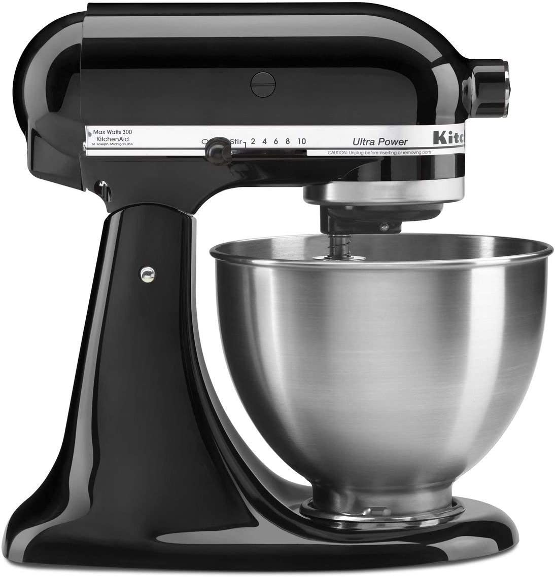 KitchenAid KSM95 4.5-quart Ultra Power Tilt-head Stand Mixer – Onyx Black