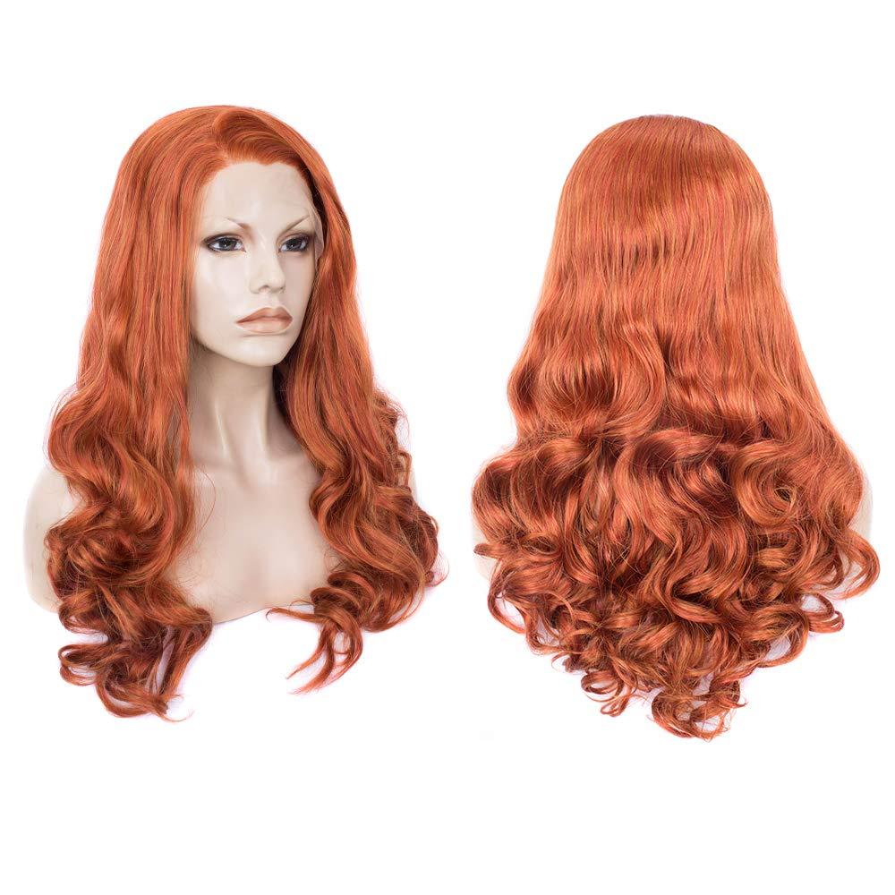 Auburn Mystic Mermaid Halloween Costume Wig