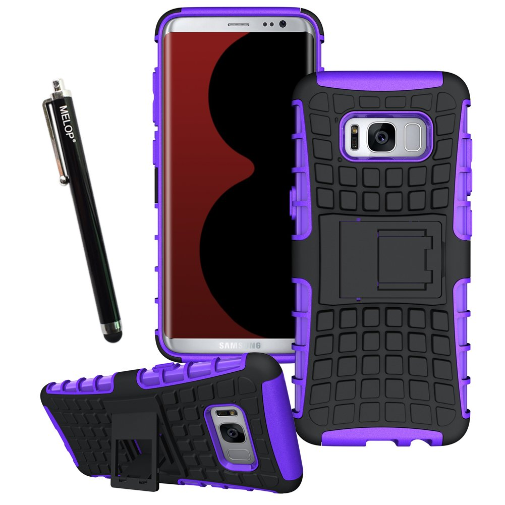 MELOP Carcasa para Samsung Galaxy s8plus, Doble Capa de protección ...