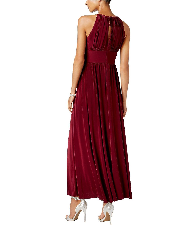 RM Richards Women\'s Petite Sleeveless Beaded Designer Evening Gown ...