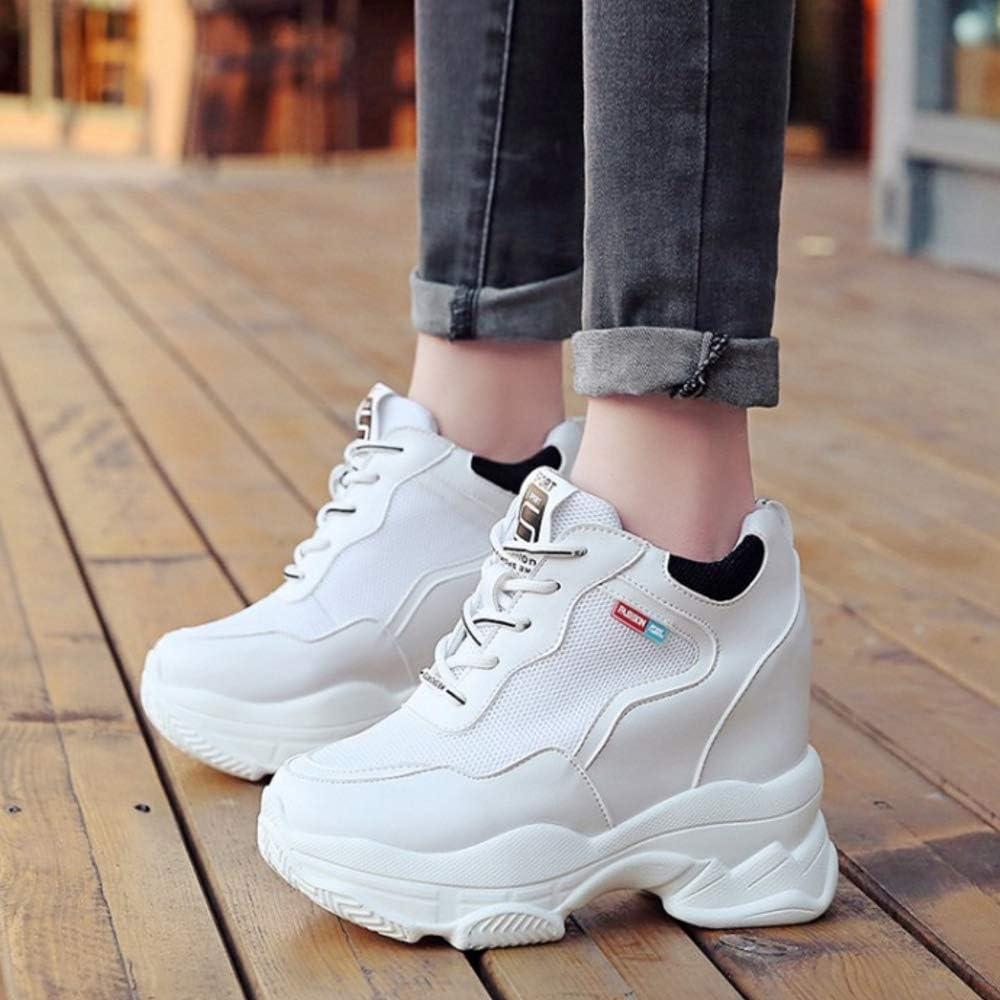 RAZAMAZA Women Fashion Summer Shoes High Heel Lace Up White 42