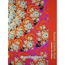 INVESTIGATIONS 2012 COMMON CORE STUDENT ACTIVITY BOOK SINGLE VOLUME ED  GRADE 2