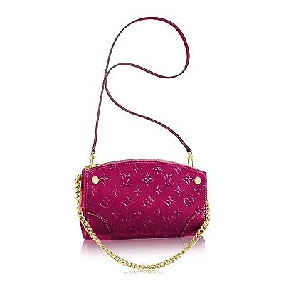 6b02d2733760 Louis Vuitton Monogram Vernis Leather Santa Monica Clutch Handbag Article   M50587 Made in France  Amazon.co.uk  Shoes   Bags