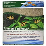 Penn-Plax Ammonia Remover Infused Filter Media Pad, 18 by 10-Inch