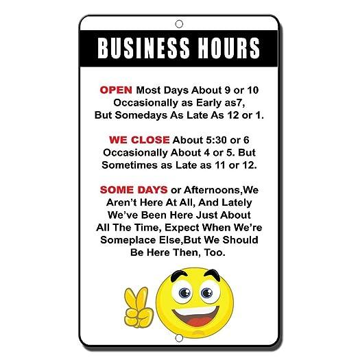 Horario de trabajo abierto más días cerca de 5: 30 o 6 ...