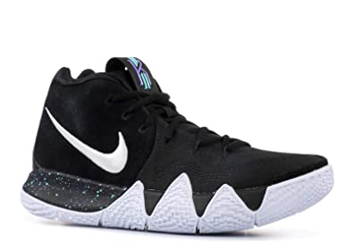 designer fashion 4be04 8f1d3 Nike Kyrie 4, Chaussures de Basketball Homme, NoirBlanc (002),