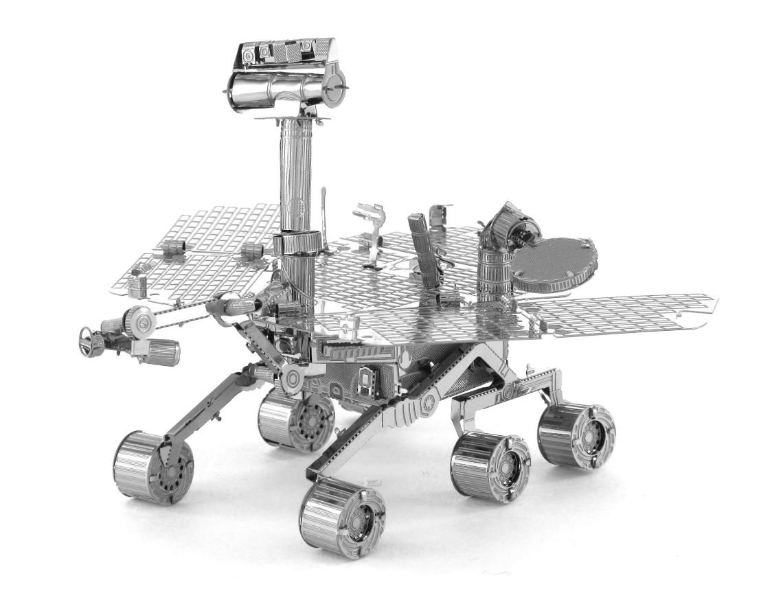 Fascinations Metal Earth Mars Rover 3D Metal Model Kit