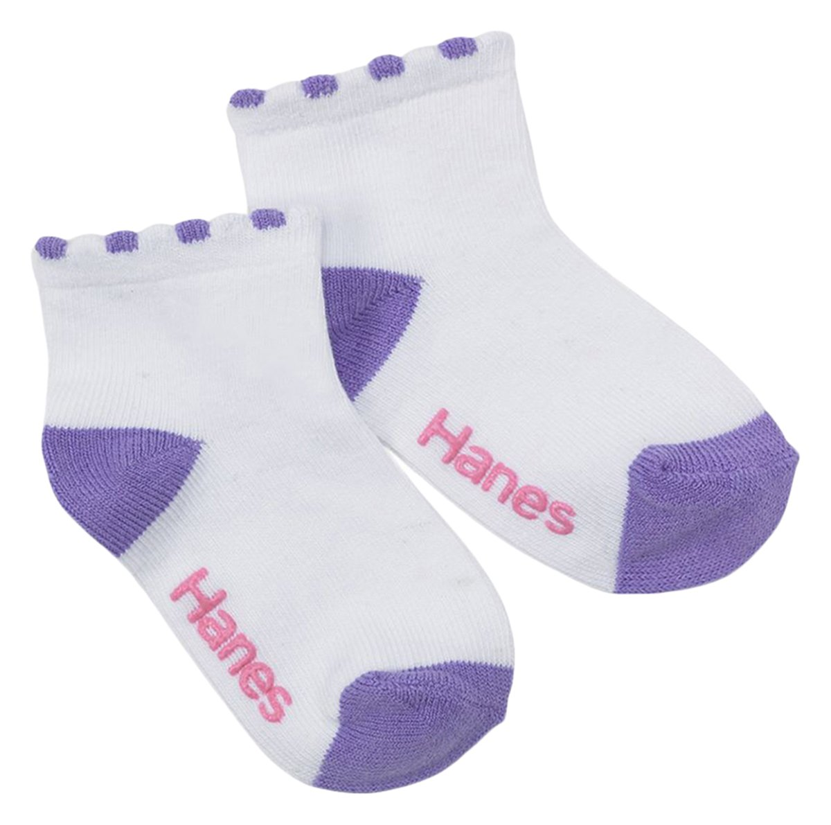 Amazon.com: Hanes Toddler Girls Non-Skid Ankle Socks, 6 pack, 12-24  mo-colors may vary: Baby - Amazon.com: Hanes Toddler Girls Non-Skid Ankle Socks, 6 Pack, 12