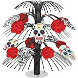 Amscan International 240465 Day of the Dead Cascade Centrepiece