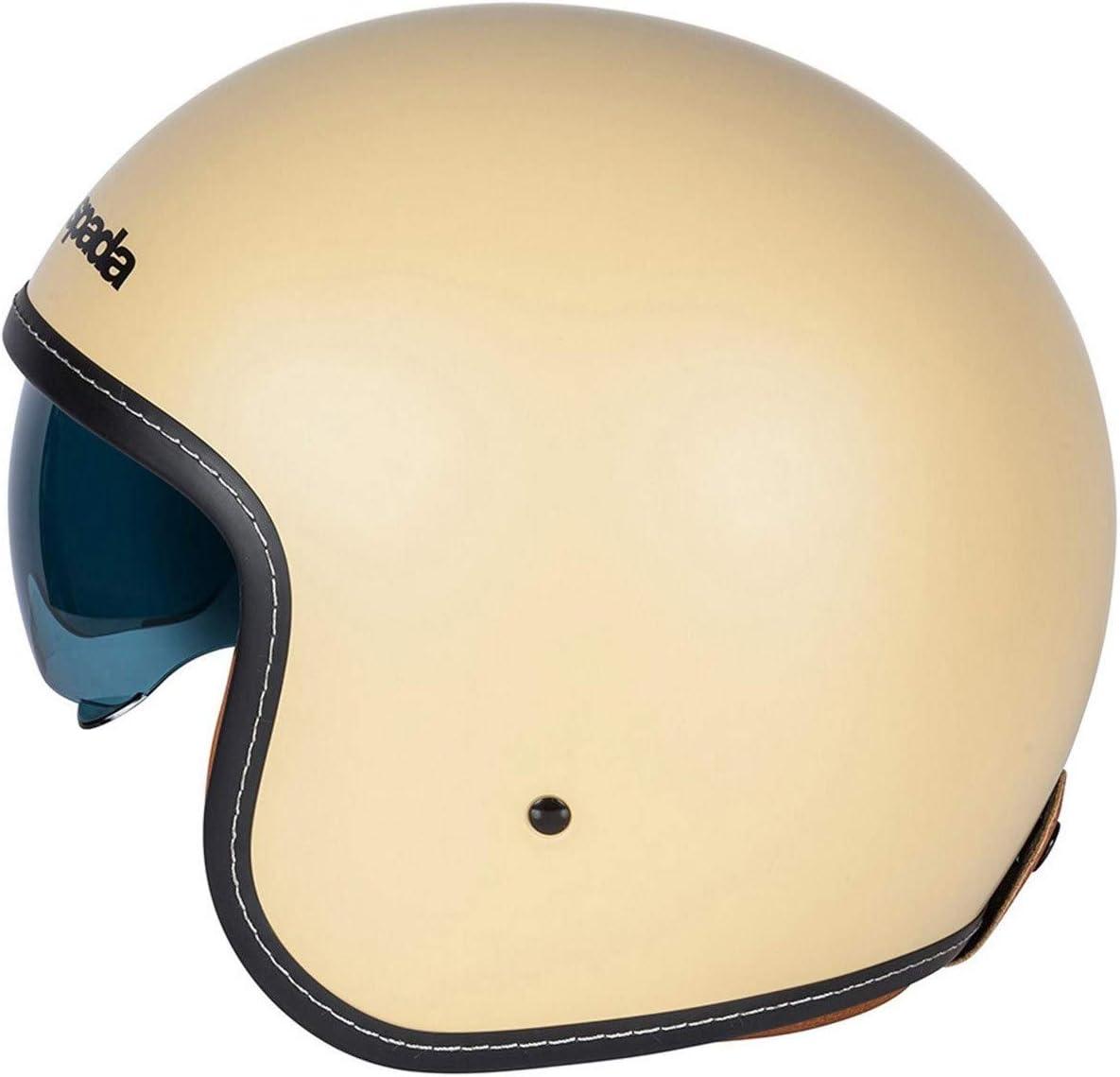Sand//Tan Spada Raze Sandanista Motorcycle Motorbike Open Face Helmet