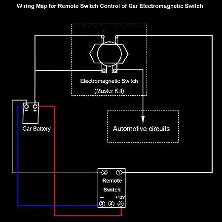 Pleasing Amazon Com Car Wireless Remote Control Battery Switch Disconnect Wiring Cloud Usnesfoxcilixyz
