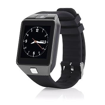Global Technology dz09 Smart Reloj 3,96 cm (1,56 Pulgadas ...