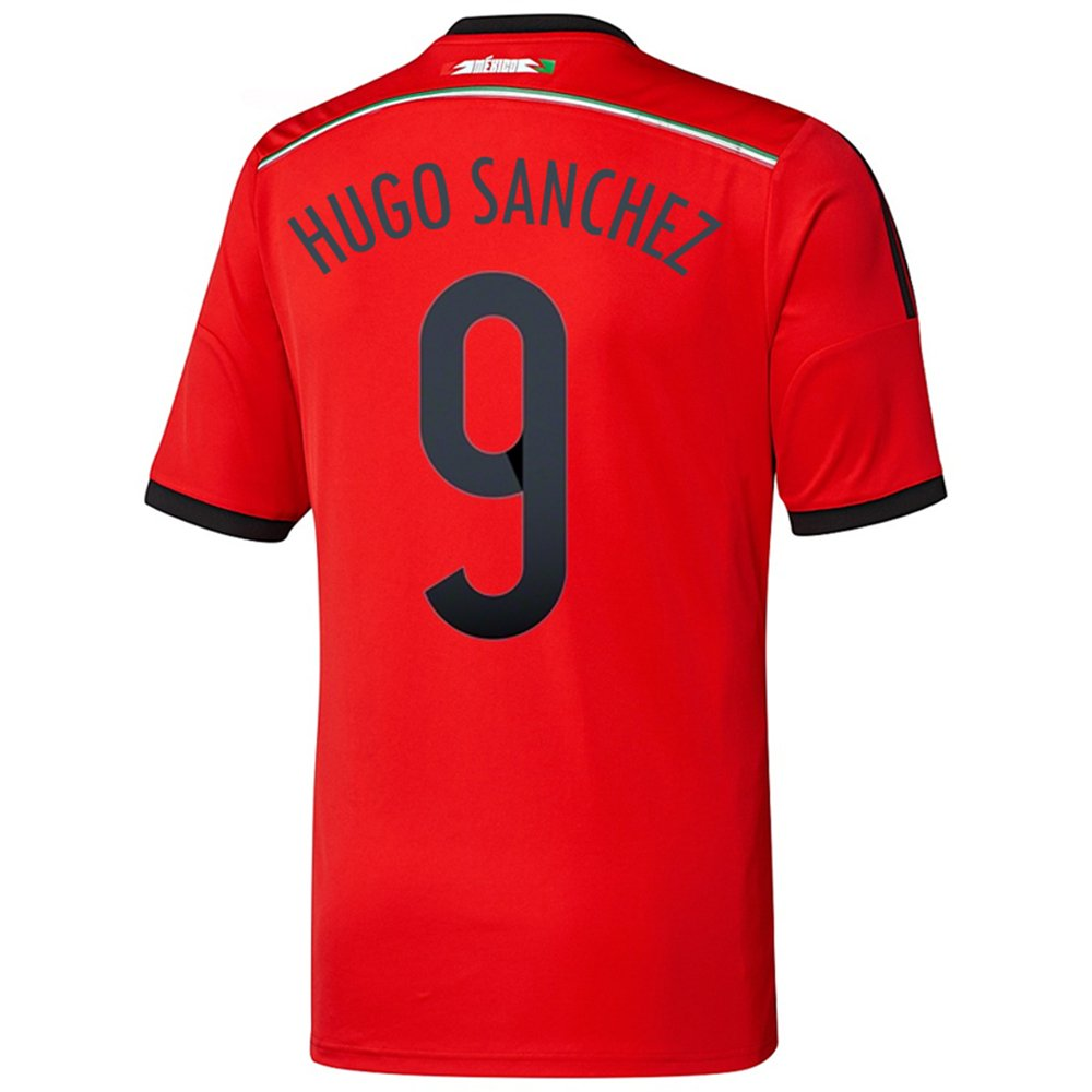 Adidas HUGO SANCHEZ #9 Mexico Away Jersey World Cup 2014/サッカーユニフォーム メキシコ アウェイ用 ワールドカップ2014 背番号9 ウーゴサンチェス B00KTMEBWW   Medium