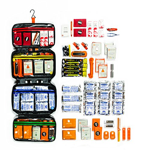 Pod Swab - Relief Pod International RP122-104K-001 Deluxe Emergency Kit
