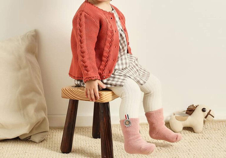 Style 3, 0-1year Lucky staryuan 6Pack Baby Boys girls Winter Thick Socks Warm Socks