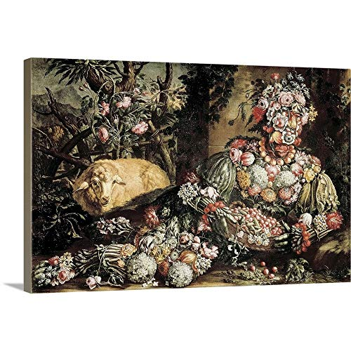 - GREATBIGCANVAS Gallery-Wrapped Canvas Entitled The Spring by Giuseppe Arcimboldo 18