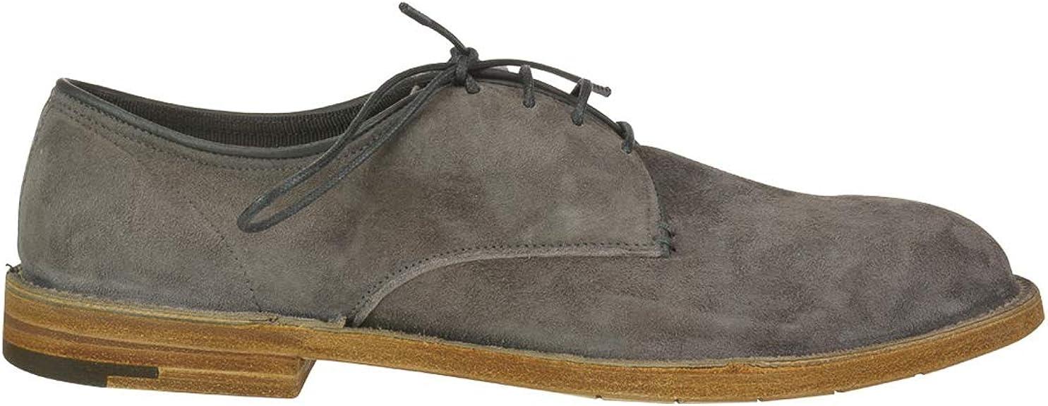 PREMIATA Grey Suede lace-up Shoes, 44