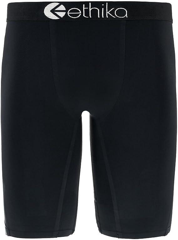 Ethika Men/'s Underwear Seamless Black RARE