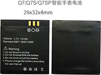 Amazon.com: OCTelect Q7/Q7S/Q7SP Smart Watch Battery Q7/Q7S ...