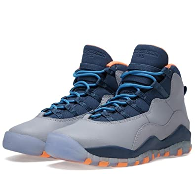 Air Jordan Retro 10 \u0026quot;Bobcats\u0026quot; (TD) Baby Toddlers Basketball Shoes  Wolf