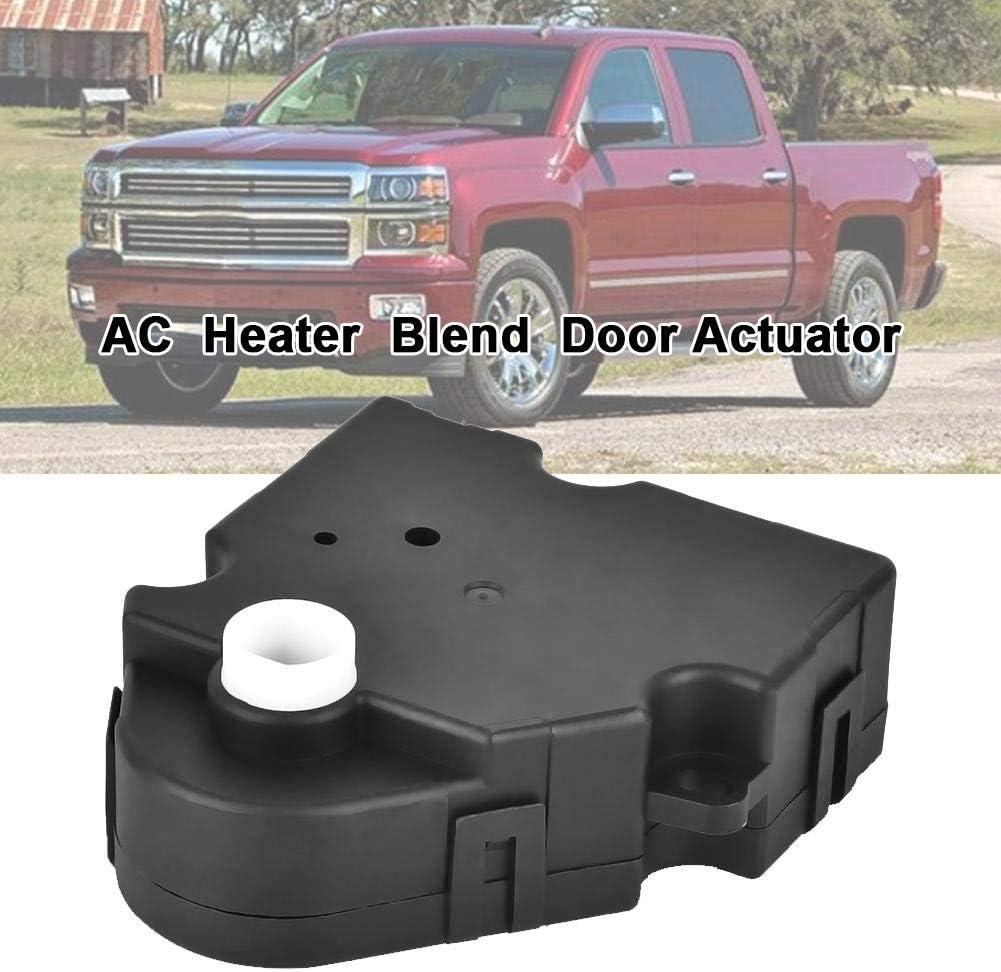 Bouder Heater Blend Door Actuator for 1999-2013 Chevrolet Silverado 2000-2014 Cadillac Escalade Damper Brake Replacement up-to-date