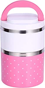 Thermal Lunch Box - 2 Layer Stainless Steel Insulation Thermo Thermal Lunch Box Food Container Hot