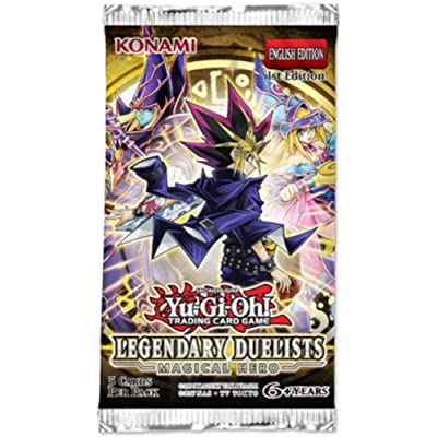 Yugioh Legendary Duelists Magical Hero Booster Pack: Toys & Games