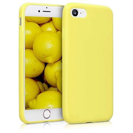 iphone 7 coque jaune pastel