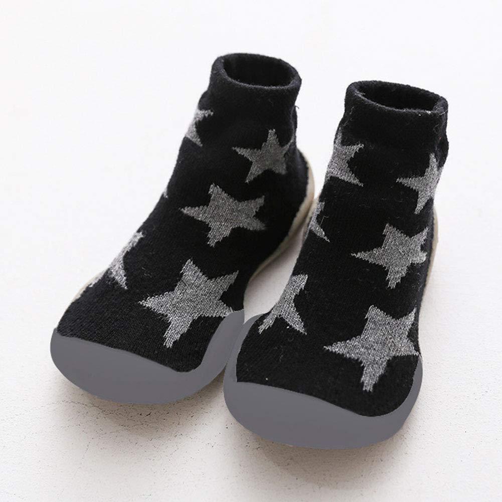 QinMMROPA Beb/é ni/ñas calcetines antideslizantes de punto con diadema bebe recien nacido t/érmico algodon calcetines lazo de vestir invierno calcetines fiesta ceremonia