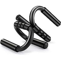 Kiewhay Push Up Bars voor Home Gym Fitness Training - S-vorm Push Up Handgrepen met Foam Grip Draagbaar voor…