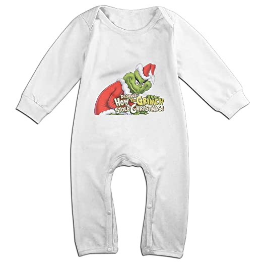 Amazon Com Tyui Cute The Grinch Stole Christmas Jumpsuit For Infant