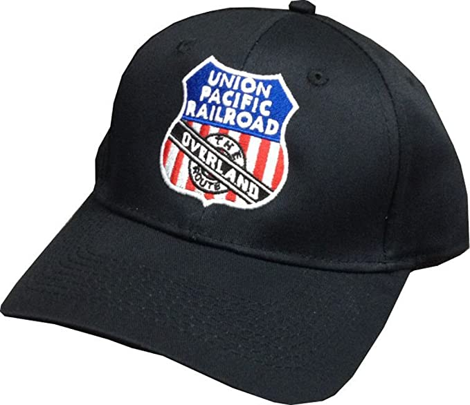 Amazon.com  Union Pacific Overland Route Embroidered Hat  hat123 ... cfec7ab6298