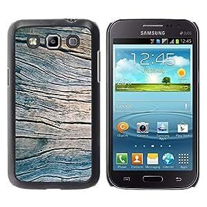 Be Good Phone Accessory // Dura Cáscara cubierta Protectora Caso Carcasa Funda de Protección para Samsung Galaxy Win I8550 I8552 Grand Quattro // Grain Blue Summer Pier Texture