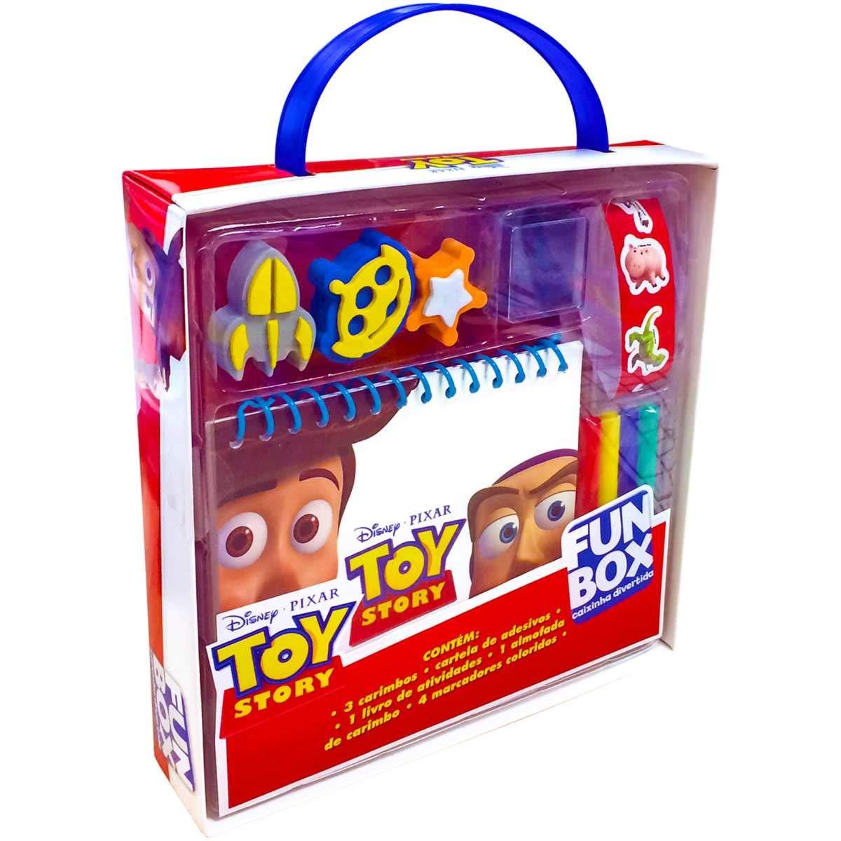 Disney Toy Story Caixa Colecao Fun Box Varios Autores