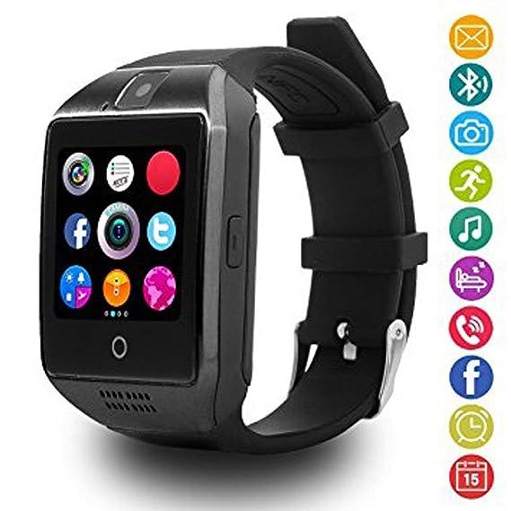Montre Connectée Compatible avec Microsoft Lumia 650, CEKA TECH® Montres Connectée Bluetooth, Smart Watch, avec Caméra, Écran Incurvé Tactile, ...